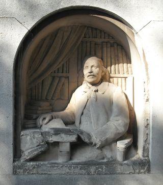 Montparnasse tombstone