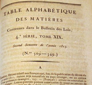 B des Lois Table Alpha small