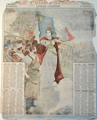 1900 calendrier