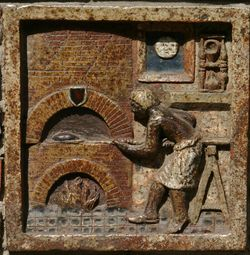 Baker's tile - oven