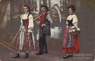 Postcard Alsace small