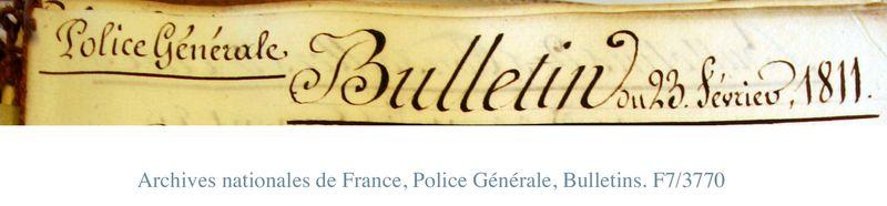 Bulletin title