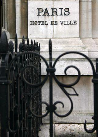 Paris - Hotel de Ville - small