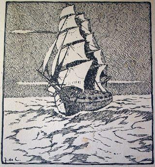 Sailing ship small