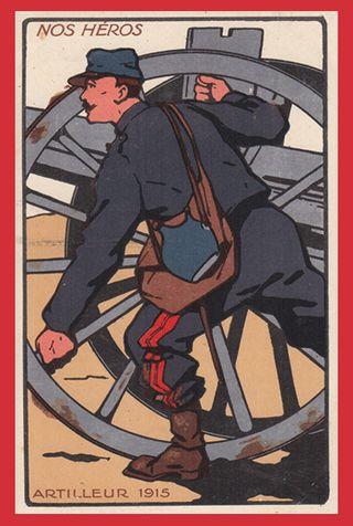 Artilleur 1915