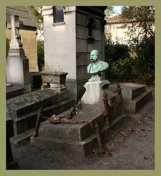 Untended grave