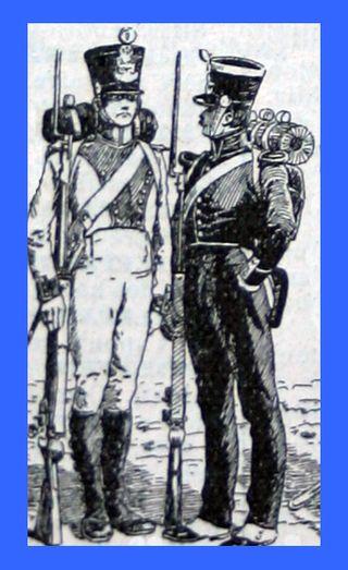 Restoration Infantry Uniforms