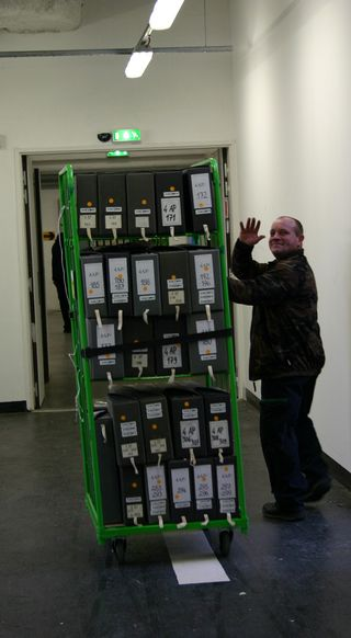 Relocating archives