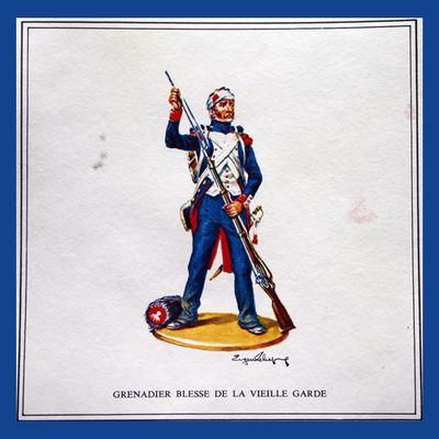 Grenadier blessé