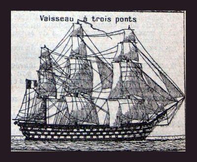 3-masted ship