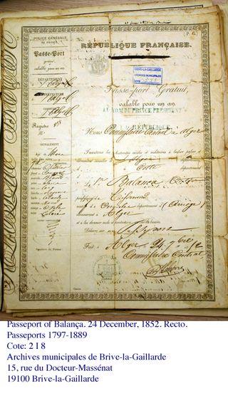 Balanca passport 1