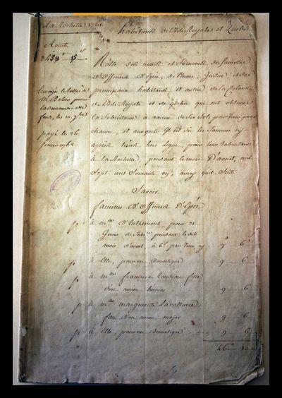 1761 list