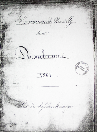 Sample census cover 1