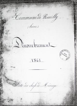 Sample census cover 1