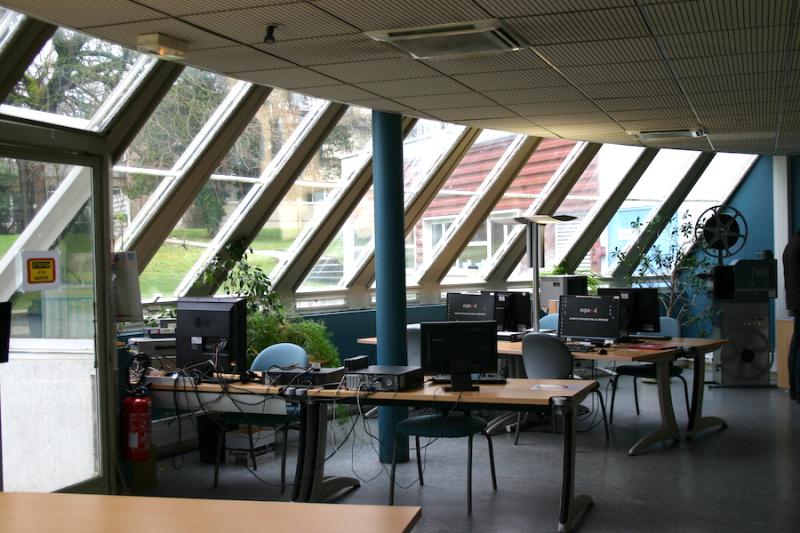 ECPAD reading room