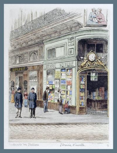 Paris Bookshop