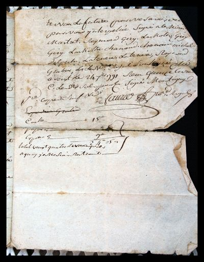 1791 Marriage Contract 4