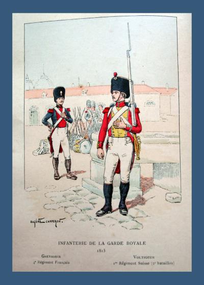 Infanterie de la Garde Royale 1815