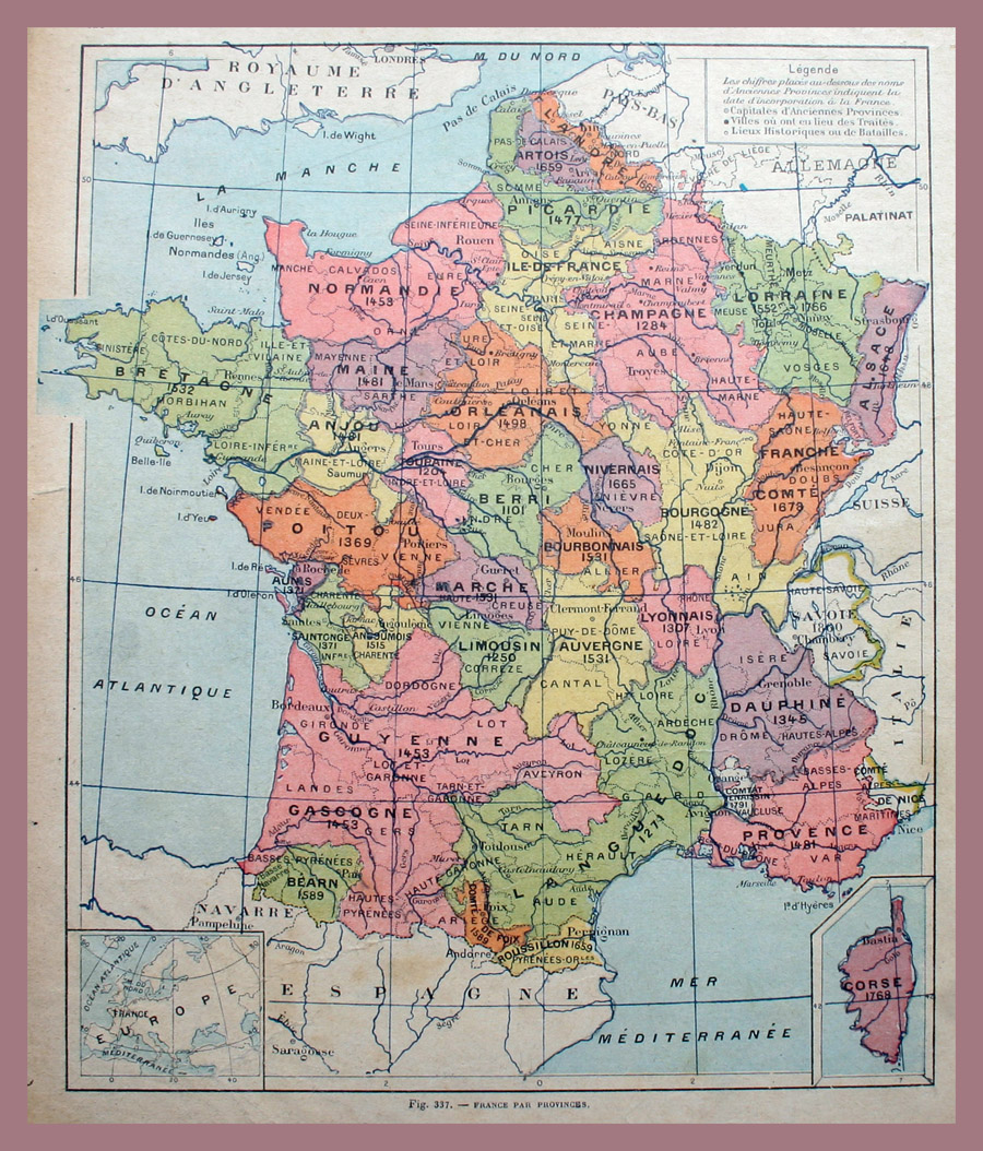 WHERE in France Was Your Ancestor From? - The French Genealogy Blog
