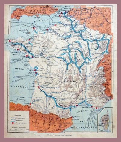 Navigable waterways