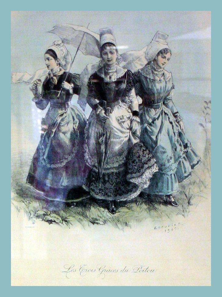 Poitou ladies