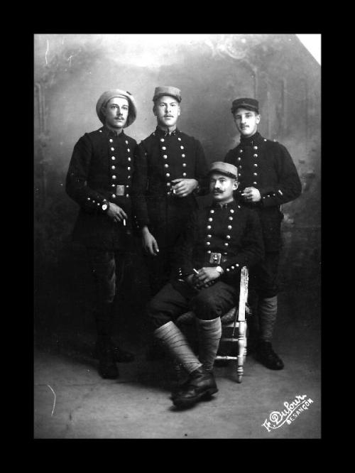 WWI men