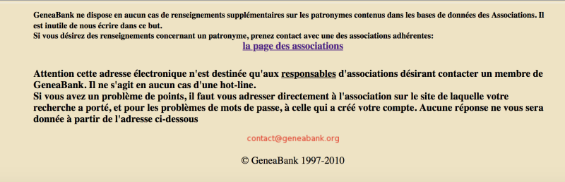 Geneabank 1