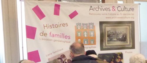 Salon Archives et Culture
