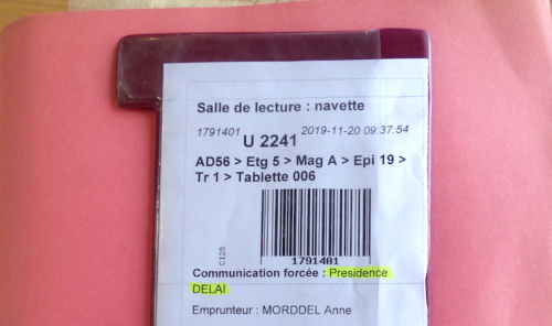 Morbihan ticket