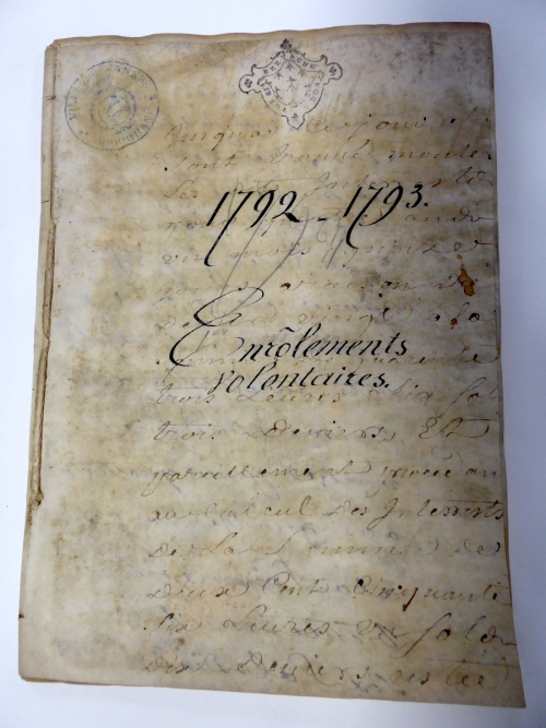 1792 Volunteers Register