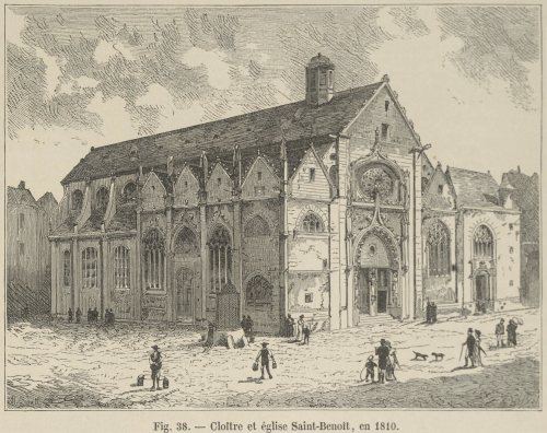 Saint Benoît in 1810