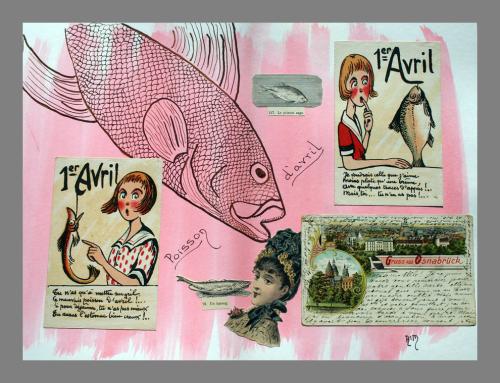 Poisson d'avril Collage