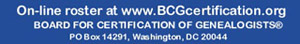 http://www.bcgcertification.org/associates/search_detail.php?cert_id=1907
